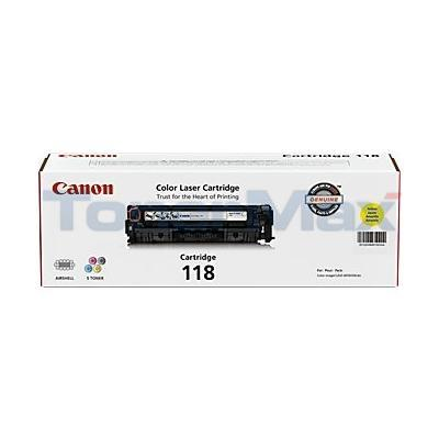 CANON 118 TONER CARTRIDGE YELLOW